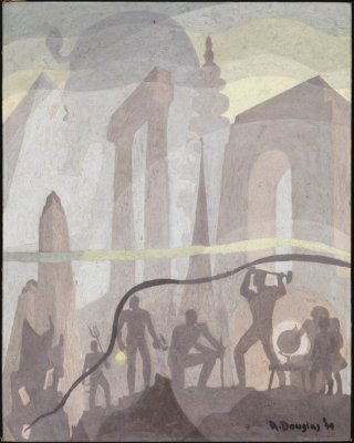 Aaron Douglas, Building More Stately Mansions