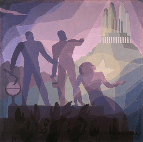 Aaron Douglas, Aspiration (painting, 1936)